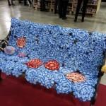 Panchina Fiori di San Lorenzo NivesCosebelle Abilmente 2016 Arte dell'Assurdo